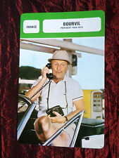 BOURVIL  - MOVIE STAR - FILM TRADE CARD - FRENCH- #2