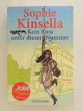 Sophie Kinsella Kein Kuss unter dieser Nummer Roman Goldmann Verlag