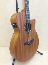 "Caraya Safair 40"" CEQ All Mahogany Thin-body Acoustic Guitar,Cutaway,EQ+Free Bag"
