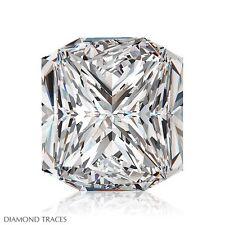 1.00ct H-VS1 Ideal Cut Square Radiant AGI 100% Genuine Diamond 5.56x5.50x3.84mm