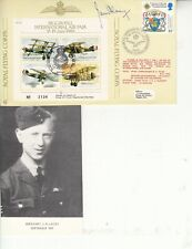 More details for sqn ldr james harry (ginger) lacey hand signed biggin hill int air fair 1988