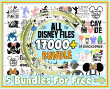 +17k SVG PNG FILE, DISNEY, MICKEY MOUSE, CHRISTMAS, FROZEN, CUT FILE