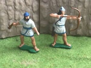 Engineer Basevich. 2 Ancient Israelite infantry warrior.  60mm painted plastic
