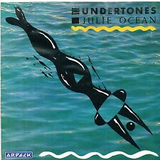 """UNDERTONES julie ocean / kiss in the dark U.K. ARDECK 7"""" pic slve_ORIG 1981"""