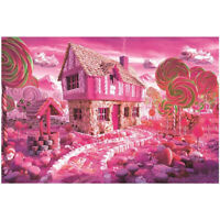 Candy House MINI Puzzles 1000 Pieces Jigsaw Puzzles Educational Toys Home Decro