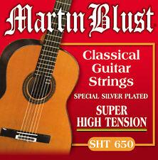 Gitarrensaiten für Konzertgitarre Super High Tension