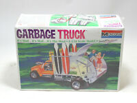 Monogram Garbage Truck 1/24 Scale Vintage Model Kit. Mad Mod (1968) - New!