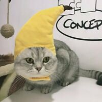 Cute Pet Hat Banana Shape Headgear Pet Hat for Dog and cat Outfit Clothing#G