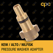 Foam cannon pressure washer connector adapter for KEW ALTO NILFISK lance canon