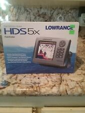 New in box Lowrance Hds-5x Fishfinder