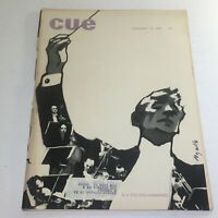 Cue Magazine: February 8 1969 - The Philharmonic Theme Cover