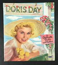 """Doris Day� 1955 Whitman Cut Paper Dolls Vintage"