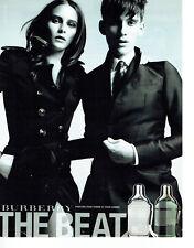 Publicité Advertising 058   2011   parfum homme & femme The Beat  Burberry