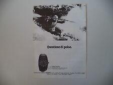 advertising Pubblicità 1981 OROLOGIO MILITARY FERDINAND PORSCHE