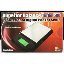 Superior Balance Digital Pocket Scale Turbo 500- 1g to 500g - New in the box