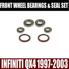 Fits:Infiniti QX4 Front Wheel Bearings Seals Set 1997-2003