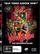 VIDEO NASTIES: THE DEFINITIVE GUIDE K&C Argento VHS Palace Explosive Evil Dead