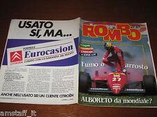RIVISTA ROMBO 1985/27=ALBORETO FERRARI=IL MOTORE FIRE=GOLF GTI/SCIROCCO GTX=