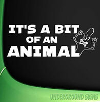 Pepperami Bit Of An Animal Funny Car/Window/ JDM VW EURO Dub Vinyl Decal Sticker