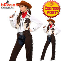 K686 Rodeo Girl Wild West Cowgirl Indian Western Fancy Dress Cowboy Costume Hat