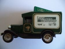 LAXEY WESTMINSTER GARAGE I.O.M - LLEDO MODEL A VIEW VAN VV13 - GREEN - BOXED