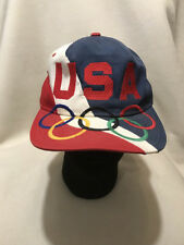 Vtg USA Olympic Team Starter Big Logo Snapback Hat