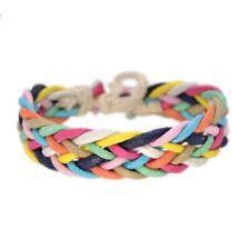 Boho rope Rainbow Bracelets