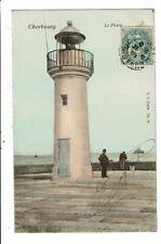 CPA-Carte Postale-France Cherbourg Le Phare 1905-VM11452
