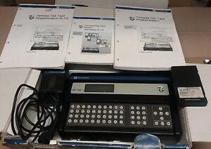 Télémécanique console de programmation TSX T407 1