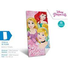 Filles officiel Disney Princess Bain Plage Vacances Natation Rapide Facile-sèche serviette