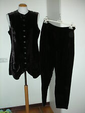 Completo Paggetto ANNA MOLINARI BLUMARINE Complete Jacket and Pants Tg.44 Italy