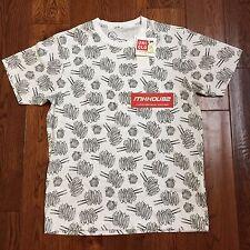 New Uniqlo Kaws x Peanut Swirl Spin Short Sleeve T-Shirt Tee Supreme SS17 Size M