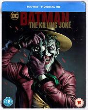 BATMAN: THE KILLING JOKE BLU-RAY STEELBOOK NEU & OVP DEUTSCHER TON SOLD OUT