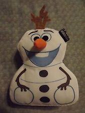 "INKOOS DISNEY FROZEN OLAF PLUSH TOY 7"" TALL 2014 USED"