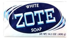 White Zote Laundry Soap and Stain Remover, 400g Bar