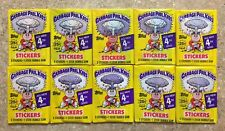 1986 Garbage Pail Kids 4th Series- 10 Different Packs-Variation Lot! TWT