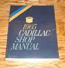 1965 Cadillac Shop Service Manual 65