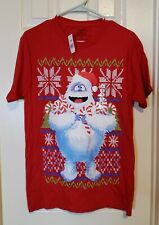 Adult Small Abominable Snowman T-Shirt Christmas Rudolph the Red Nosed Reindeer