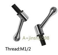 2PC Bridgeport Milling Machine Part Table Lock Bolt Mill Handle M1/2 Thread Tool