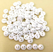 X Small 12mm 20L Aged Silver Metal 2 Hole Industrial Rustic Buttons XM109