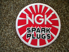 75mm NGK MOTORING EMBROIDERED PATCH