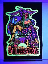 Vintage 1971 JESUS CHRIST SUPERSTAR II Blacklight Poster Mini 17x11 NOS RARE
