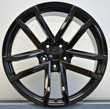 "2) 18"" x 11"" Gloss Black Style 41 ZL Fits Camaro 2010 - Up REAR Wheels Rims Pair"