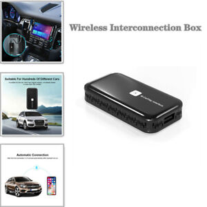 Android Compatible With Built-in Phone Carplay Mirroring Link Wired To Wireless