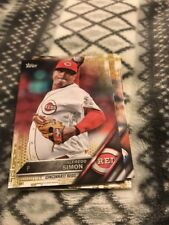 2016 Topps Update Gold Parallel #US28 Alfredo Simon Cincinnati Reds