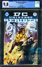 DC UNIVERSE REBIRTH #1 - FOURTH PRINT - CGC 9.8 - SOLD OUT - DC COMICS RELAUNCH