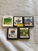 Nintendo DS Video Game Mixed Lot Of 5 Games (LOT 5)