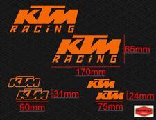 Adesivi sponsor KTM racing 6 pezzi OFFERTA!