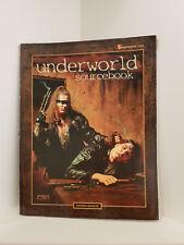 Shadowrun: Underworld Sourcebook, Softcover, RPG, Fasa