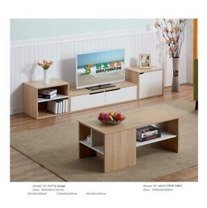 TV Stand Table Cabinet Door Cupboard Sideboard Shelf Nordic Style Wooden